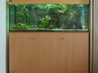 Komplett 576 literes akvárium, 160x60x60cm
